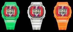 Kashiwa Sato x G-Shock DWE-5600KS-7 коллаборация