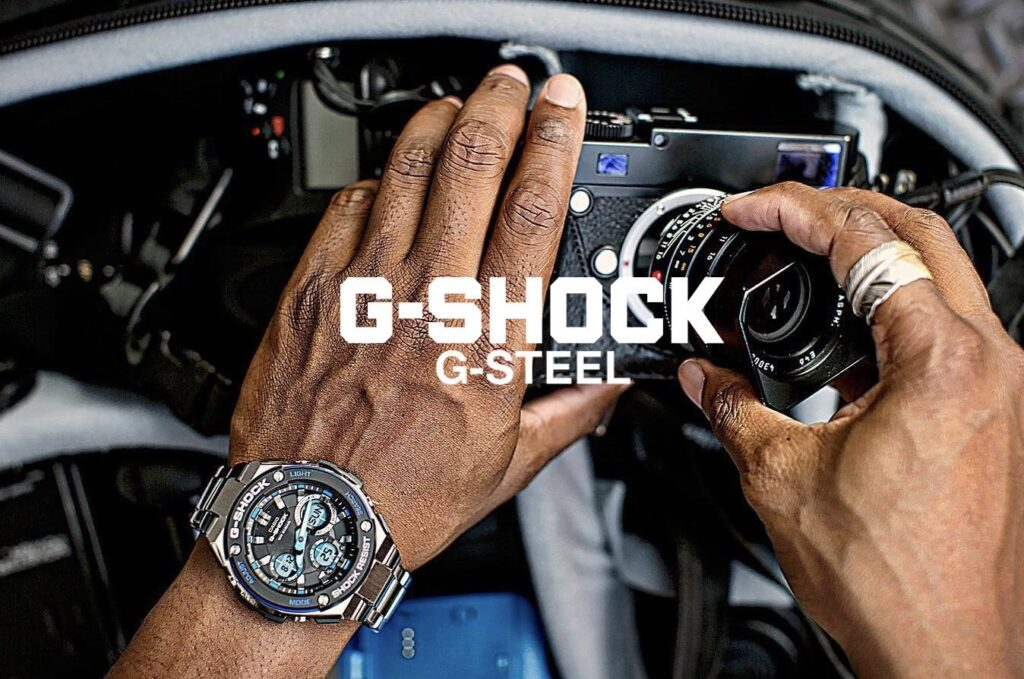 g shock g steel