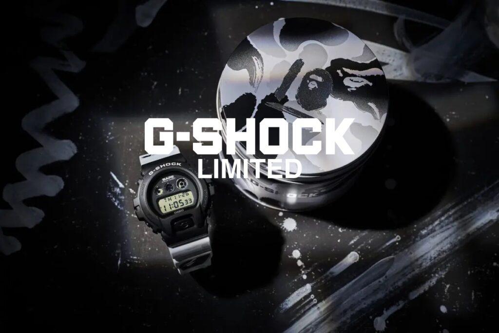 g shock коллаборации