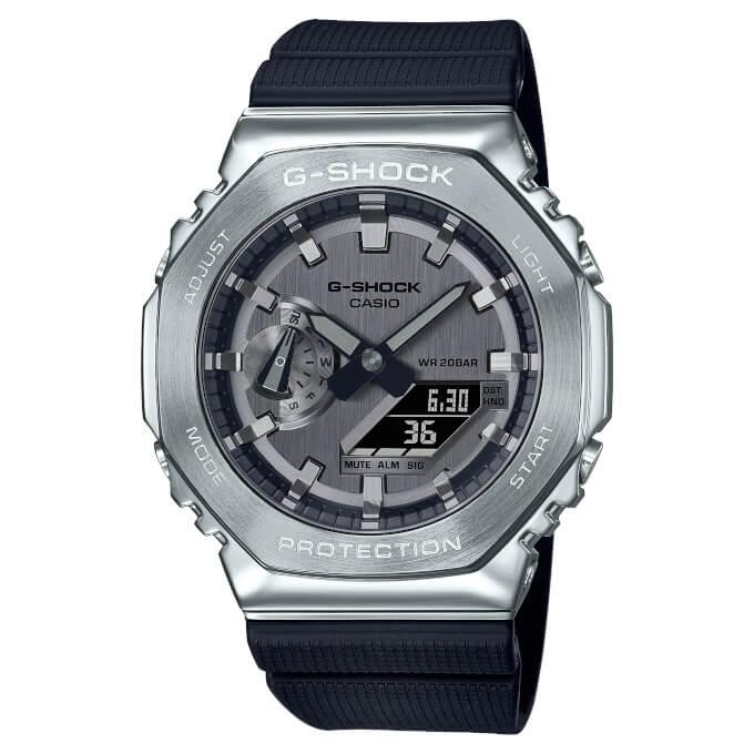 G-Shock GM-2100. Новинки CasiOak в металле.