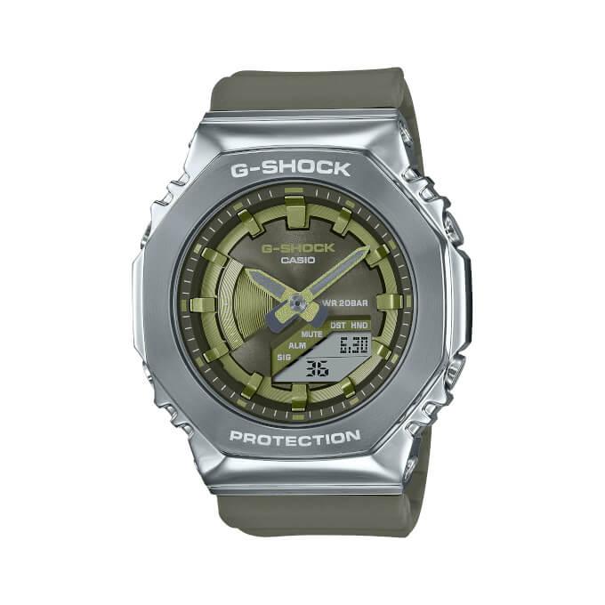 G-Shock GM-S2100 Series. Женские CasiOak в металле.