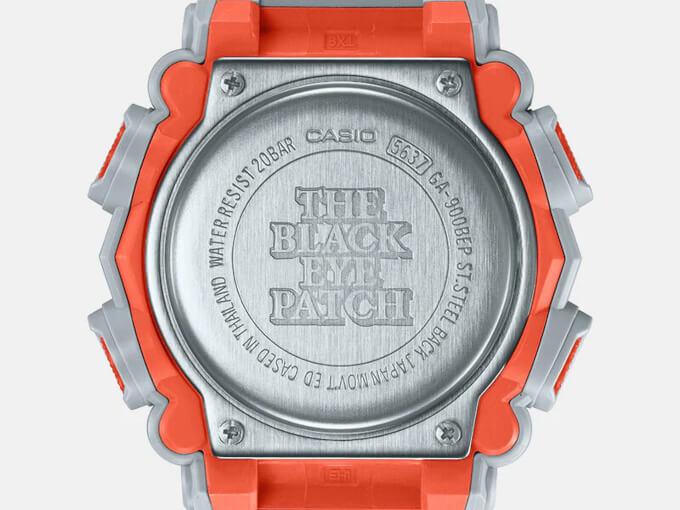 Осенняя коллаборация G-Shock GA-900BEP-8A x BlackEyePatch.
